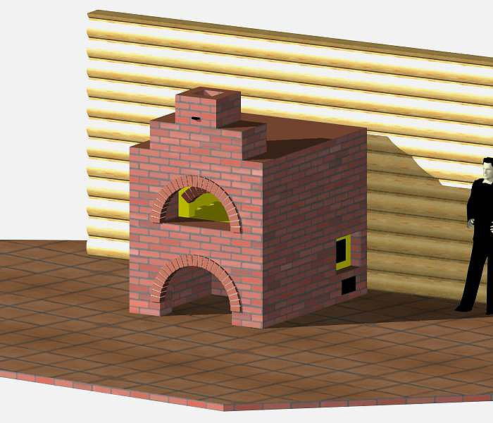 Проект печи для выпечки хлеба
