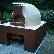 Кладка помпейской печи для пиццы