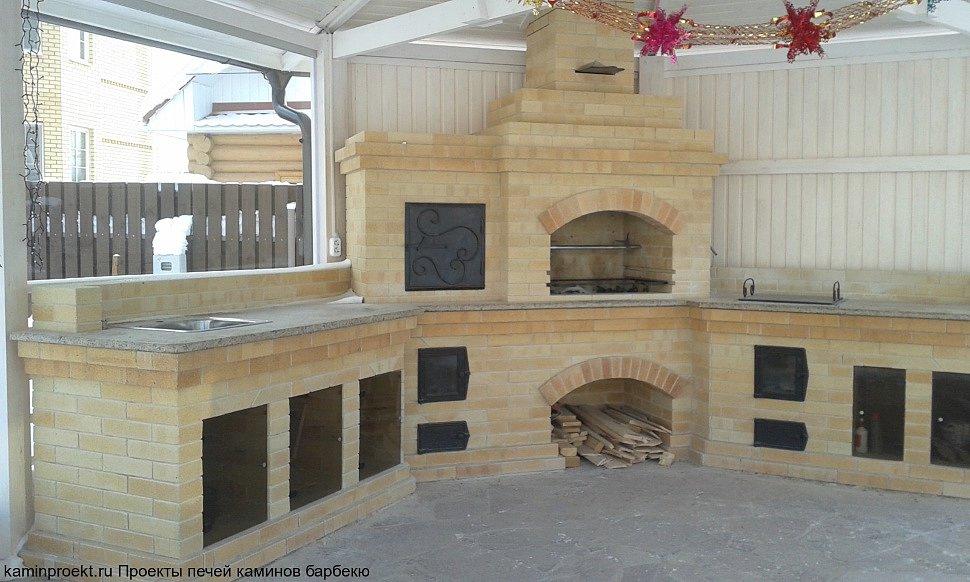 Строительство барбекю комплекса