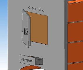 топочная дверка на печь