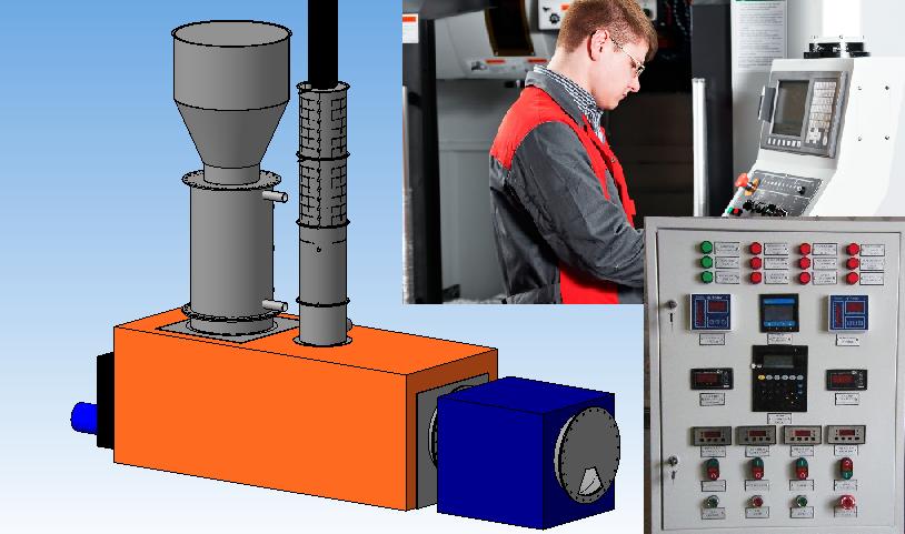 Автоматизация пиролизной установки